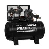 Compressor de Ar 10 Pés 125lbs 100 Litros Monofásico Csv10/100 Schulz