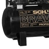 Compressor de Ar 10 Pés 140 PSI 100 Litros 110/220V CSL10BR/100L SCHULZ