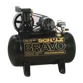 Compressor de Ar 10 Pés 140 PSI 100 Litros 220/380V CSL10BR/100L SCHULZ
