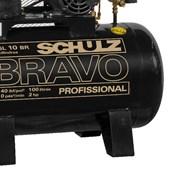 Compressor de Ar 10 Pés 140 PSI 100 Litros Monofásico 110/220V CSL10BR/100L