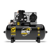 Compressor de Ar 10pcm 140lbs 100 Litros 110/220V Monofásico STORM 10/100 PRESSURE