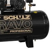 Compressor de Ar 15 Pés 140 PSI 200 Litros Monofásico 110/220V CSL15BR/200L