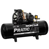 Compressor de Ar 20 Pés 125Lbs 150 Litros Monofásico CSL20/150 SCHULZ