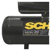 Compressor de Ar 20 Pés 175 Lbs 150 Lts Trifásico 220/380V MCSV20 Audaz Schulz