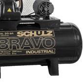 Compressor de Ar 20 Pés 175 PSI 200 Litros Trifásico 220/380V CSL20BR/200