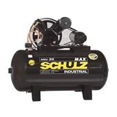 Compressor de Ar 20 Pés 175 Psi 300 litros 220/380V MAX MSV 20/300 MTA SCHULZ