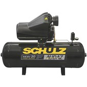 Compressor de Ar 20 Pés 175Lbs 150 Litros 220/380V MCSV 20/150 AUDAZ SCHULZ