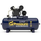Compressor de Ar 20 Pés 175Lbs 200 Litros 220/380V Trifásico SUPER AR 20/200V PRESSURE
