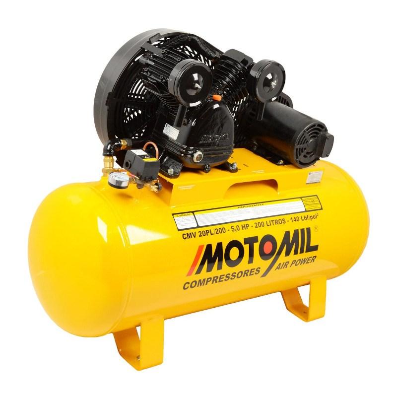Compressor de ar 200 litros