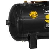 Compressor de Ar 40 Pés 175 Libras 10HP 220/280V Trifásico MSW 40/425 FORT SCHULZ