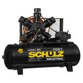 Compressor de Ar 60 Pés 175 PSI 425 Litros Aberto 220/380V MSWV60FORT/425I MTA SCHULZ