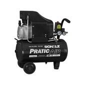 Compressor de Ar 8,2 Pés 25 Litros + Kit Acessórios 5 Peças Schulz