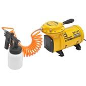 Compressor de Ar Direto 1/4HP 110/220V com Kit WP JET PRESS G3 PRESSURE