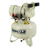 Compressor de Ar Odontológico 6 Pés 30 Litros sem ÿleo MSV6/30 SCHULZ