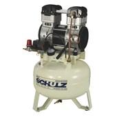 Compressor de Ar Odontológico 9 Pés 30 Litros sem ÿleo CSD9/30 SCHULZ