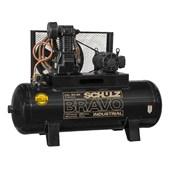 Compressor de Ar Pistão 10HP 220/380V Trifásico CSL 40BR/250 SCHULZ