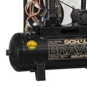 Compressor de Ar Pistão 40 Pés 175 Libras 220/380V Trifásico CSL 40BR/250 BRAVO SCHULZ