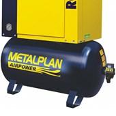 Compressor Parafuso 15HP 56 Pés 9 Bar 163 Litros 220V ROTOR PLUS METALPLAN
