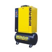 Compressor Parafuso 25HP 96 Pés 9 Bar 163 Litros Trifásico ROTOR PLUS METALPLAN