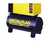 Compressor Parafuso 4HP 20 Pés 7 Bar 70 Litros ROTOR PLUS METALPLAN
