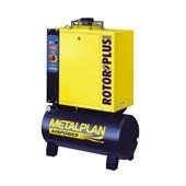 Compressor Parafuso 6 HP 27,4 Pés 8 Bar 100 Litros Trifásico ROTOR PLUS METALPLAN