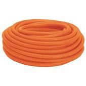 "Conduíte Corrugado Laranja PVC 1/2"" 50m para Laje 2162 COFLEX"