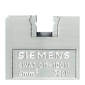 Conector de Passagem Parafuso 4mm 8WA10111DG11 SIEMENS