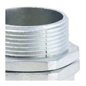 """Conector Macho Giratório 1.1/2"""" para Conduíte Aço Corrugado KMZG-112 EKOFLEX"""