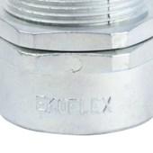 """Conector Macho Giratório 1/2"""" para Conduíte Aço Corrugado KMZG-012 EKOFLEX"""