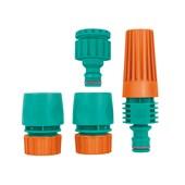 Conjunto para Irrigação com Engates Rápidos e Esguicho 4 Peças 78580/610 TRAMONTINA MULTI