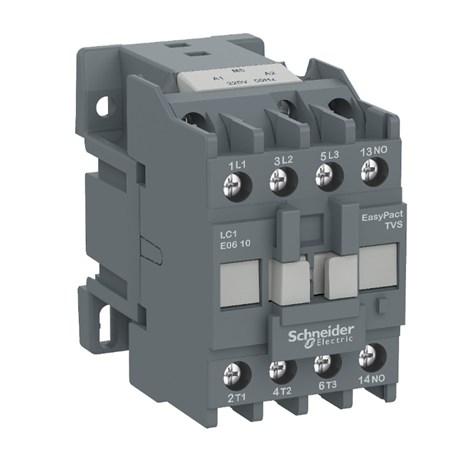 Contator 3P 12A 220V 1NA TESYS E LC1E1210M7 SCHNEIDER