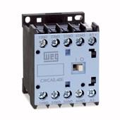 Contator Mini 10A 220V 2NA+2NF CWCA0-22-00V26 WEG