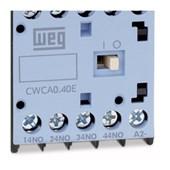 Contator Mini 10A 24V 2NA+2NF CWCA0-22-00 C03 WEG