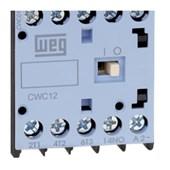 Contator Mini Tripolar 12A 24V 1na CWC012-10-30 C03 WEG
