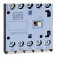 Contator Mini Tripolar 16A 24V 1na CWC016-10-30 C036 WEG