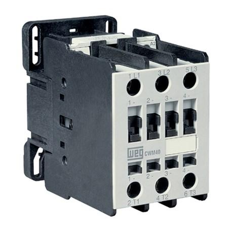 Contator Tripolar 40A 220V 1na+1nf CWM40-11-30 V26 WEG