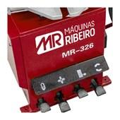 Desmontadora Pneumática Vermelha Braço Auxiliar 220V MR326 RIBEIRO