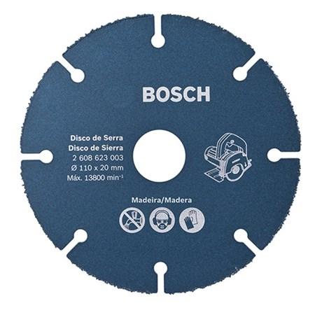 Disco Corte Madeira para Serra Mármore 110x20mm 2608623003 Bosch