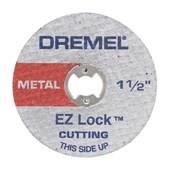 Disco de Corte 38mm com Haste Adaptadora EZ-Lock 2615E406AD DREMEL