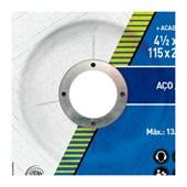 """Disco de Corte/Desbaste para Ferro 4.1/2"""" 2.8mm 7/8"""" 115CDA123 MULTIUSO NORTON"""