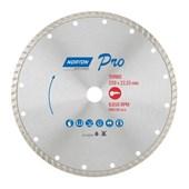 Disco de Corte Diamantado 230x22x8mm PRO TURBO NORTON