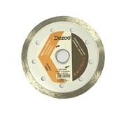 """Disco de Corte Diamantado Contínuo 4.3/8"""" Ddcp110 Dezco"""