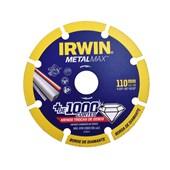 """Disco de Corte Diamantado MetalMax 4.3/8"""" 1998844 Irwin"""