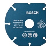 Disco de Corte Madeira para Serra Mármore 110x20mm 2608623003 Bosch