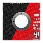 """Disco de Corte para Aço Cabono e Inox 7"""" 1,6mm 7/8"""" QUANTUM BHP12 A30U NORTON"""