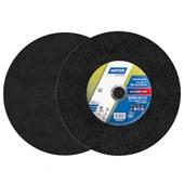 """Disco de Corte para Aço Carbono 12"""" 3,2mm 1"""" AR 312 NORTON"""