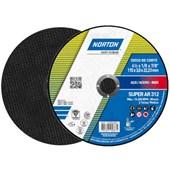 """Disco de Corte para Aço Carbono 4.1/2"""" 3,0mm 7/8"""" AR 312 NORTON"""
