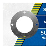 """Disco de Corte para Aço Carbono e Inox 10"""" 3,2mm 1"""" AR 312 NORTON"""