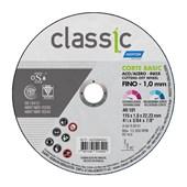 """Disco de Corte para Aço Carbono e Inox 4.1/2"""" 1,0mm 7/8"""" CLASSIC BASIC NORTON"""