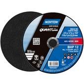 """Disco de Corte para Aço Carbono e Inox 4.1/2"""" 1,6mm 7/8"""" QUANTUM BHP12 NORTON"""